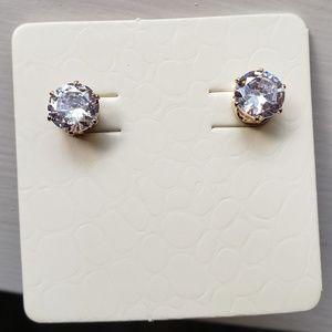 Beautiful CZ Diamond Earrings NEW